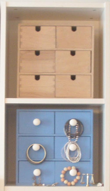 Romantic Fira mini chest makeover