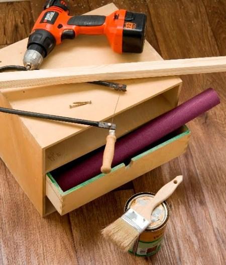 Portable drawer
