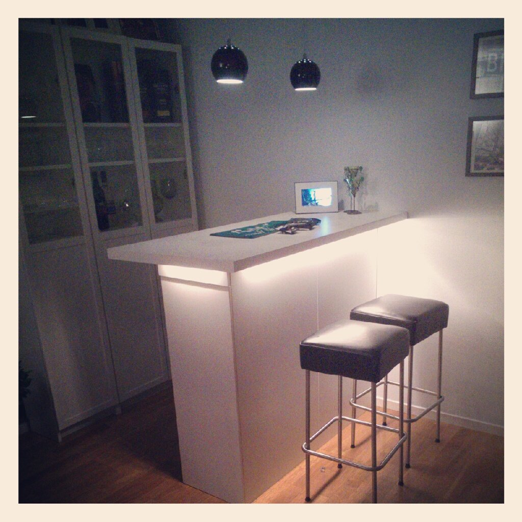 kitchen cabinets as a bar ikea hackers. Black Bedroom Furniture Sets. Home Design Ideas