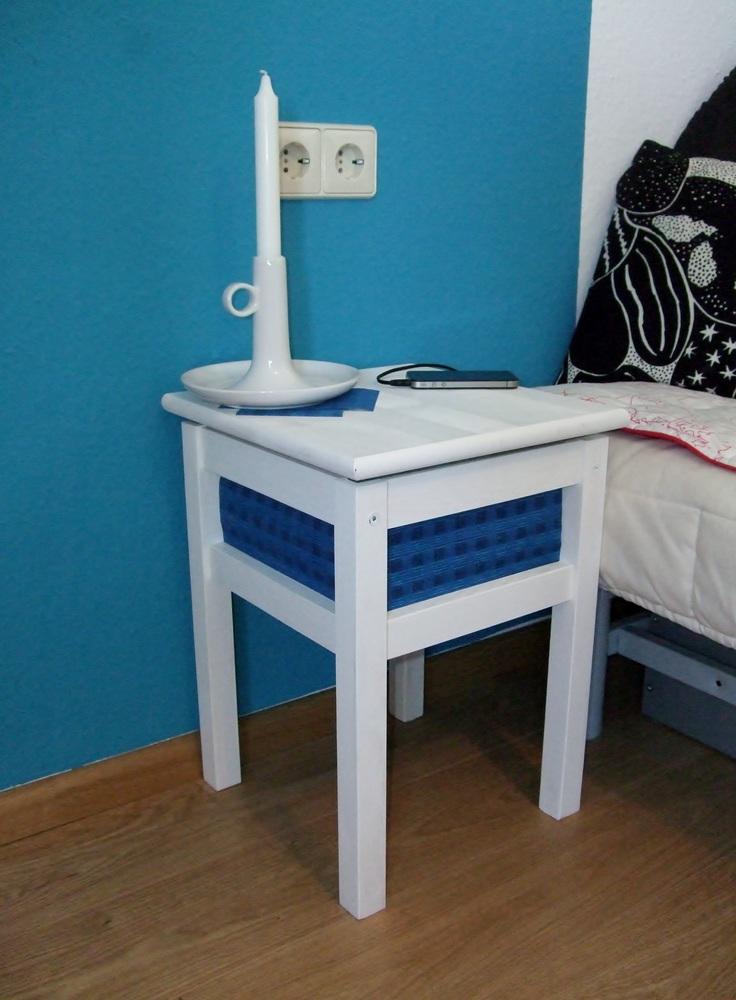 Locker Bedside Table: From Stool To Bedside Locker