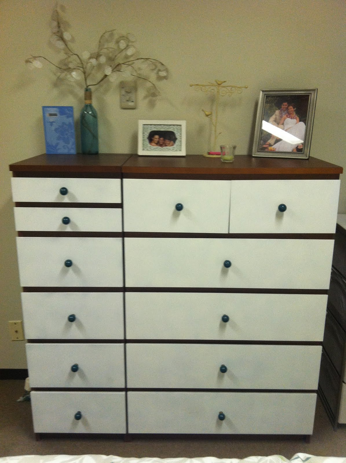 malm dresser transformation ikea hackers. Black Bedroom Furniture Sets. Home Design Ideas