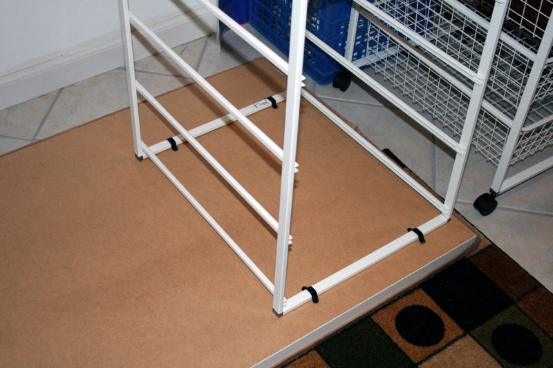 Sewing Crafting Table With Basket Storage Ikea Hackers