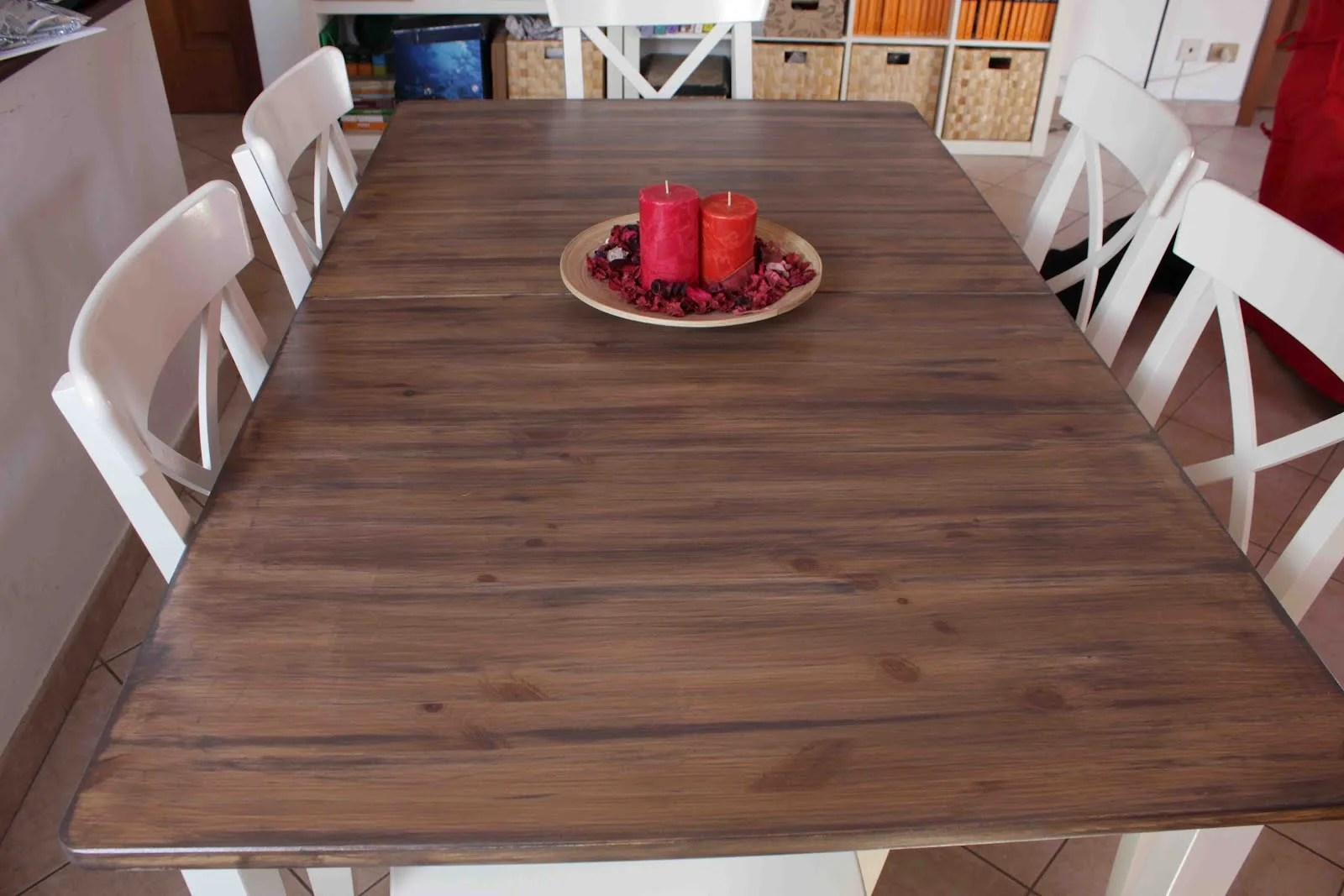 Hack a country kitchen style dining table ikea hackers - Birch kitchen table ...