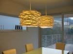 modern dining table light