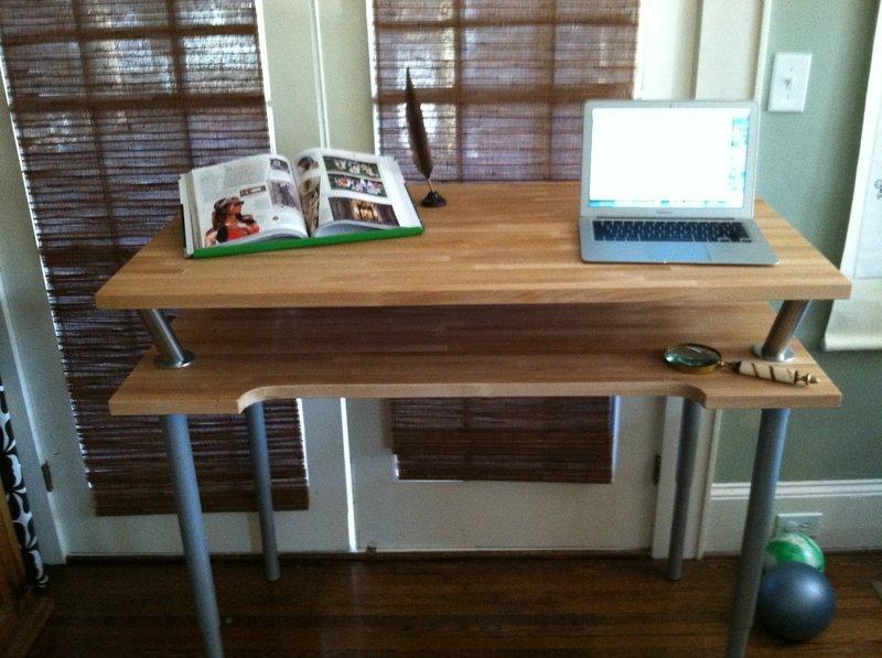Vika Br 197 D Standing Desk Ikea Hackers