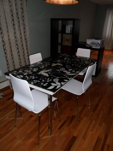 Vika Amon Glasholm Dining Table Ikea Hackers