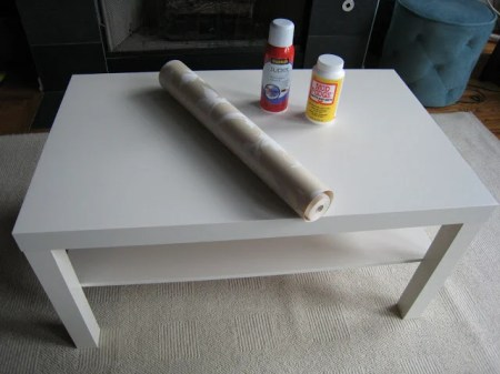 LACK coffee table makeover
