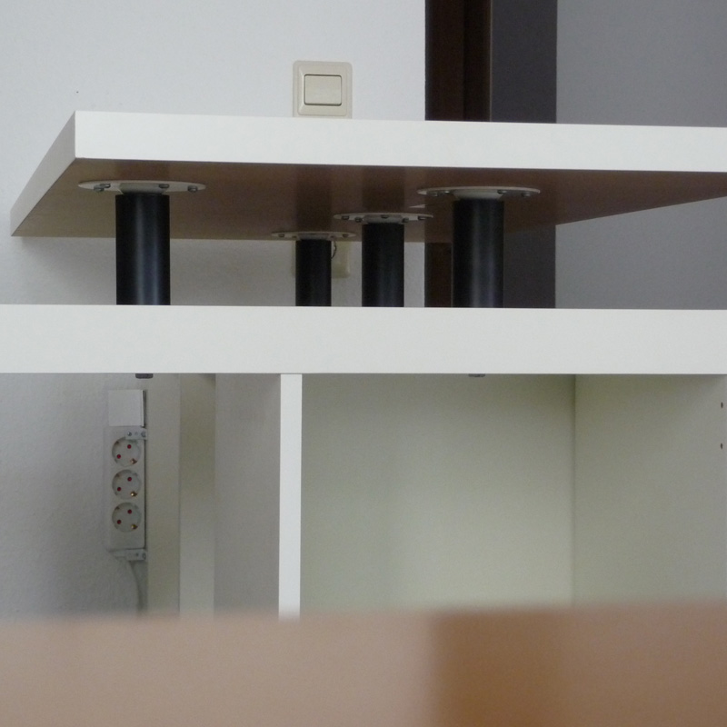 Ikea Expedit Kitchen: L-Shaped Expedit Kitchen Island