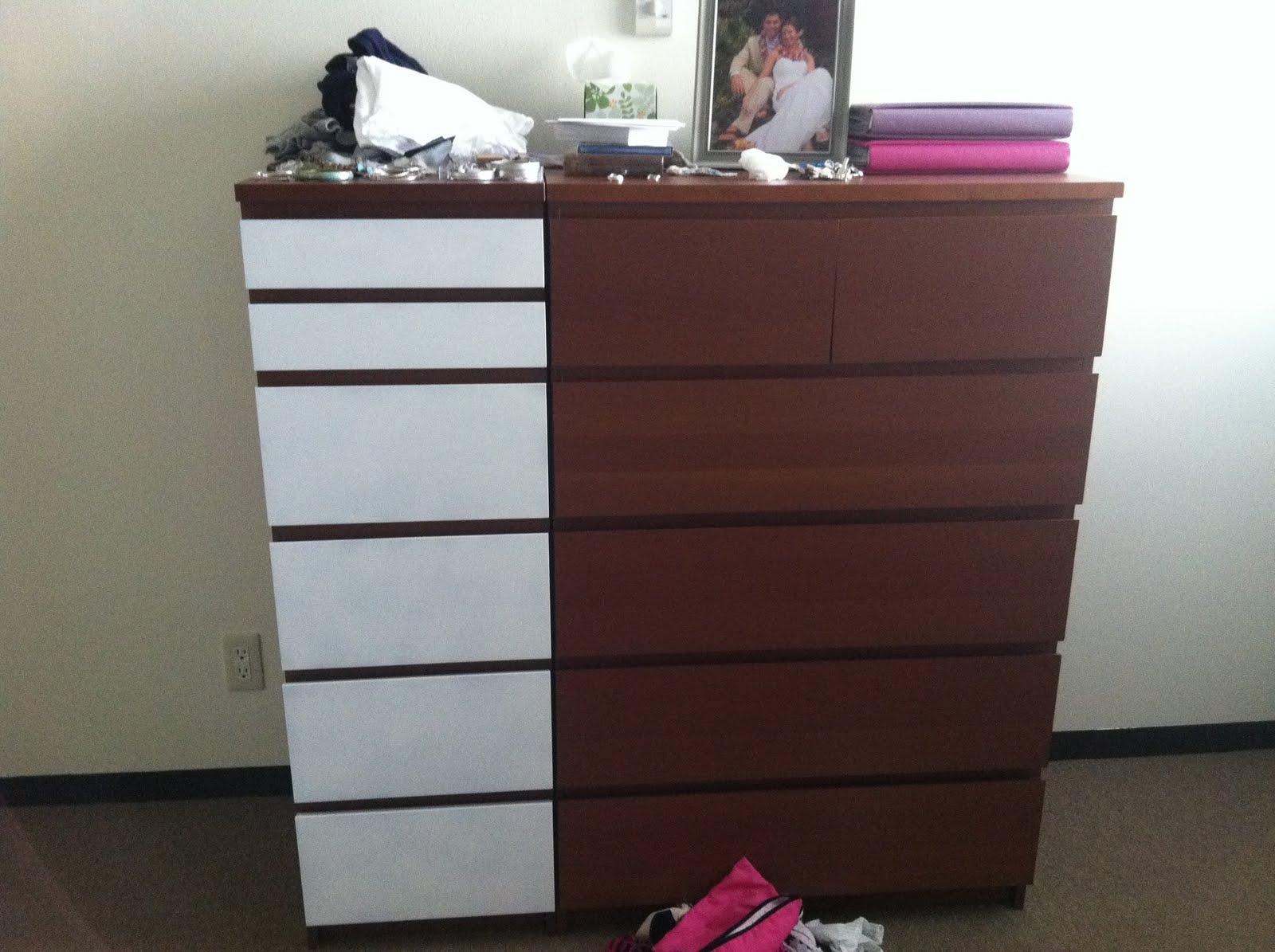 malm dresser transformation ikea hackers. Black Bedroom Furniture Sets. Home Design Ideas