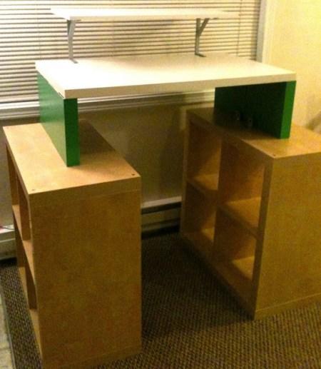IkeaHacker standing desks