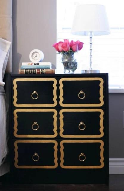 Dorothy Draper IKEA RAST chests