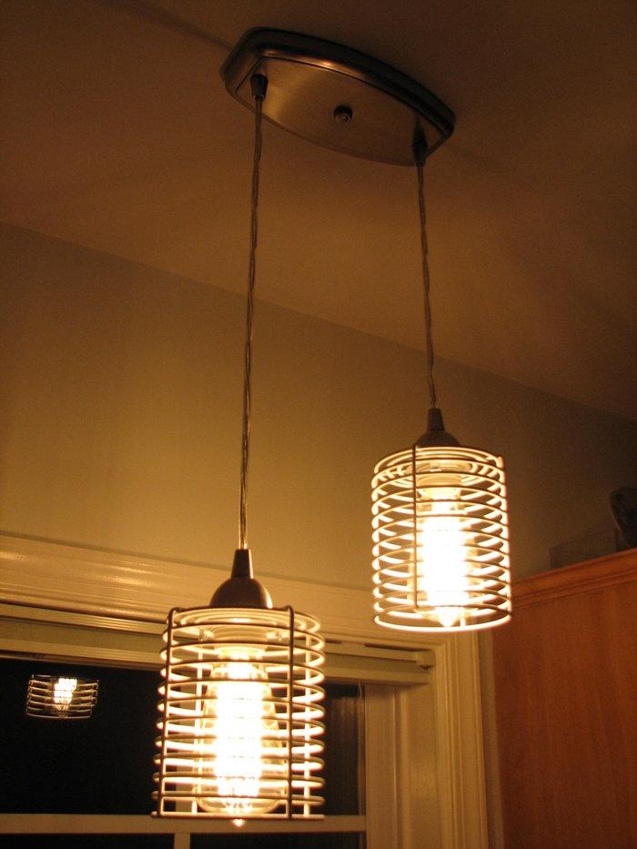 Blanken industrial pendant light ikea hackers for Small hanging light fixtures