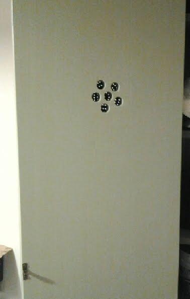Hemnes vintage food storage cabinet