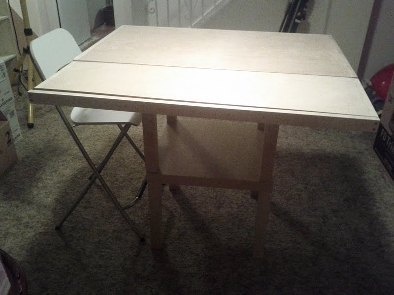 Extendable Lack Bistro Table Ikea Hackers