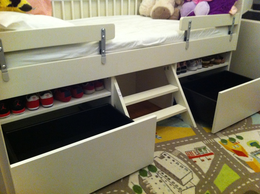 Materials 1 X Gulliver Bed 6 Vikare Guard Rails 2 Besta Cabinets Cabinet Doors Drawer Kits Drill Screwdrivers Fine Toothed Saw