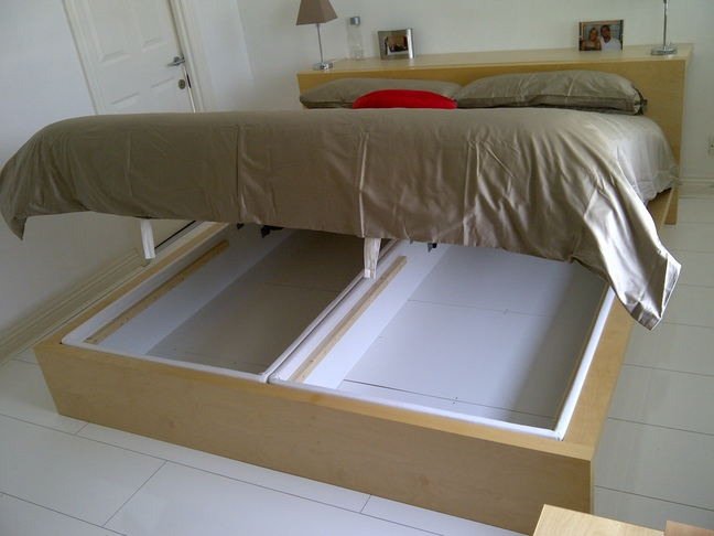 Materials 1 X Malm Super King Size Bed 2 Alsarp Single Usual Tools Piece Of Wide Elastic Band Or Strong Ribbonde
