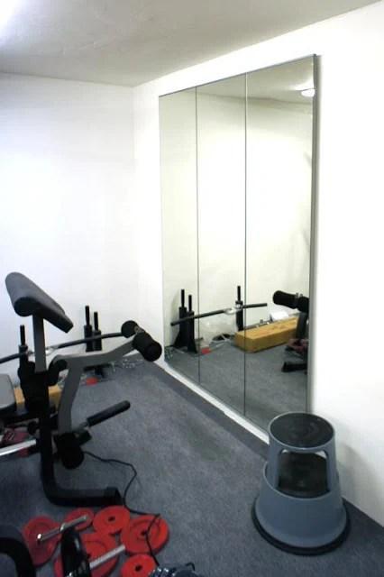 Home Gym Mirror