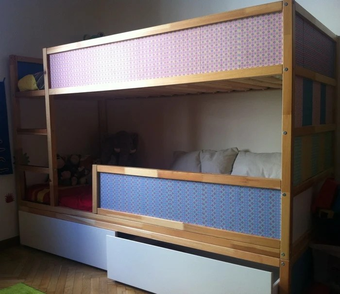 Kura Bunk Bed With Underbed Storage Ikea Hackers
