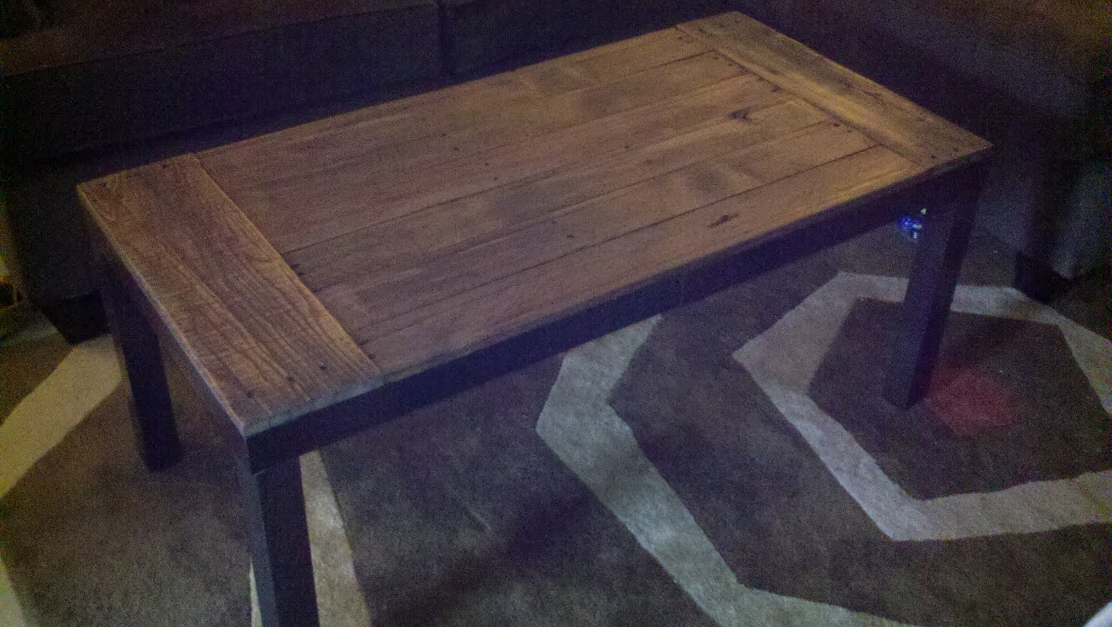 recycled pallets and 2 ikea lacks made