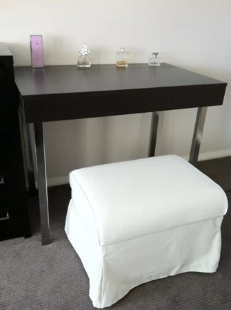 Modern Hideaway Dressing Table