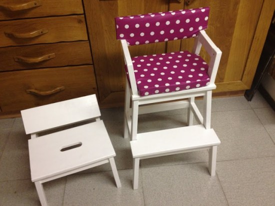 BEKVAM Step Stool to Child's Seat