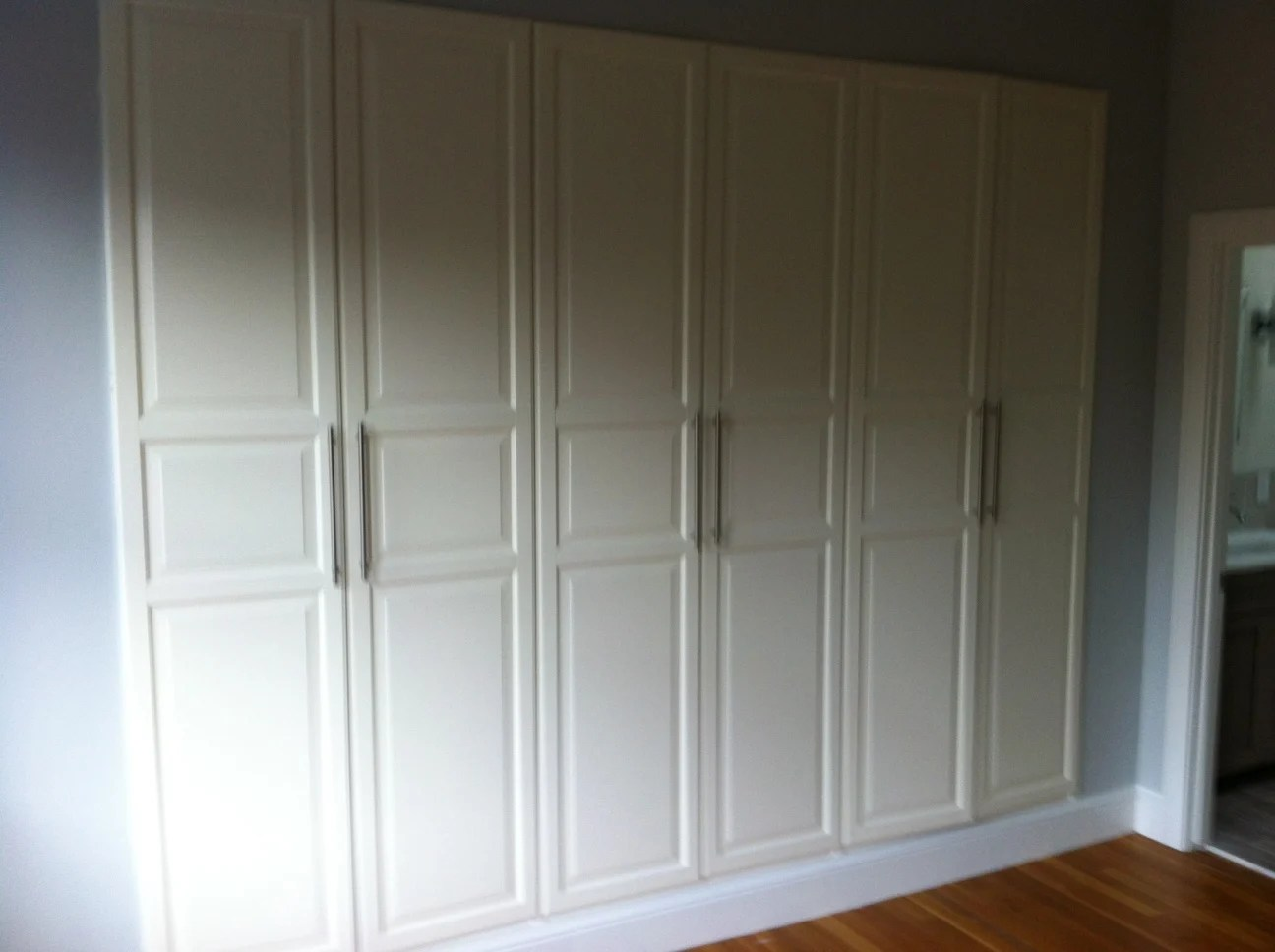 Pax Built Ins The Tall Doors Ikea Hackers # Muebles Birkeland Ikea