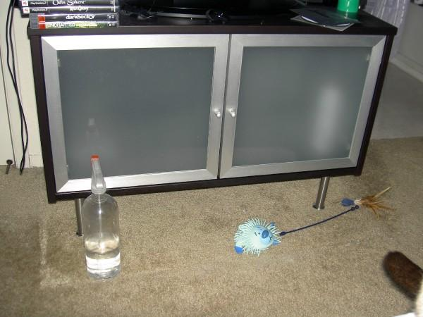 making an effektiv tv stand ikea hackers. Black Bedroom Furniture Sets. Home Design Ideas