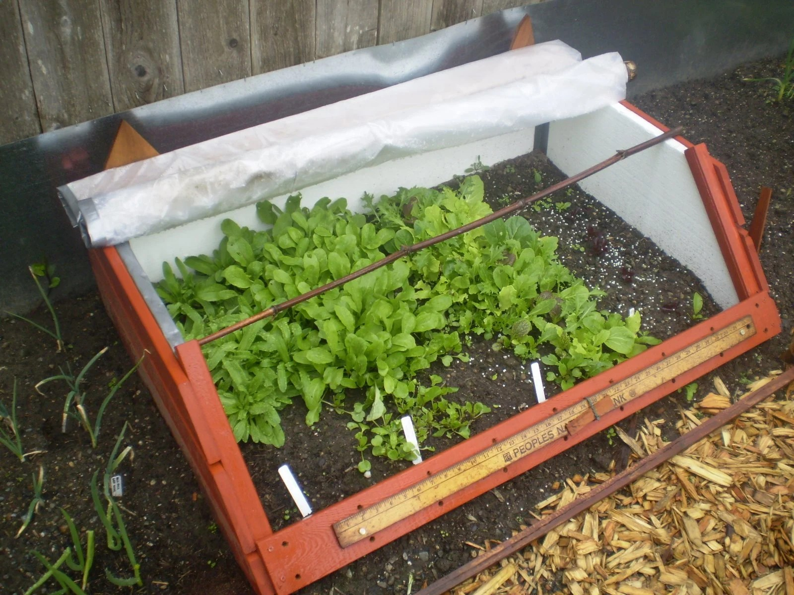 DIY hacked cold frame for the garden - IKEA Hackers