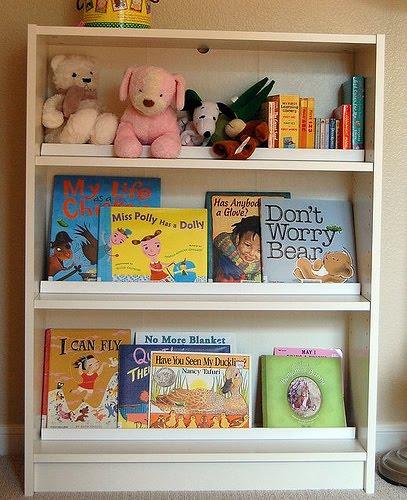 Children's Front Facing Book Rack
