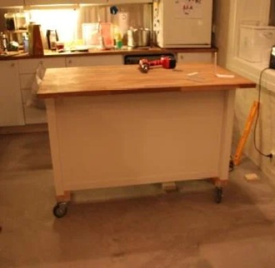kitchen island with wheels kitchen island on wheels ikea hackers 4728