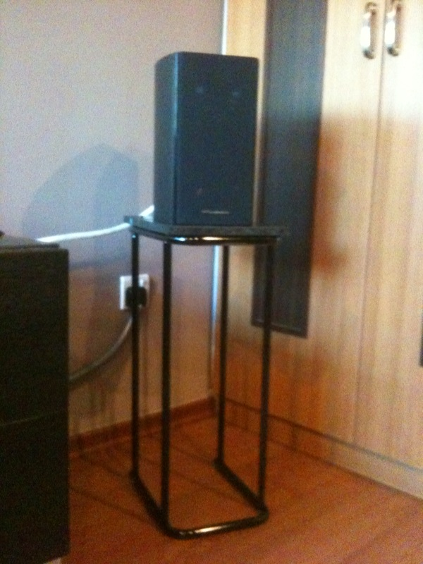 Say Hello To My Little Speaker Stands Ikea Hackers