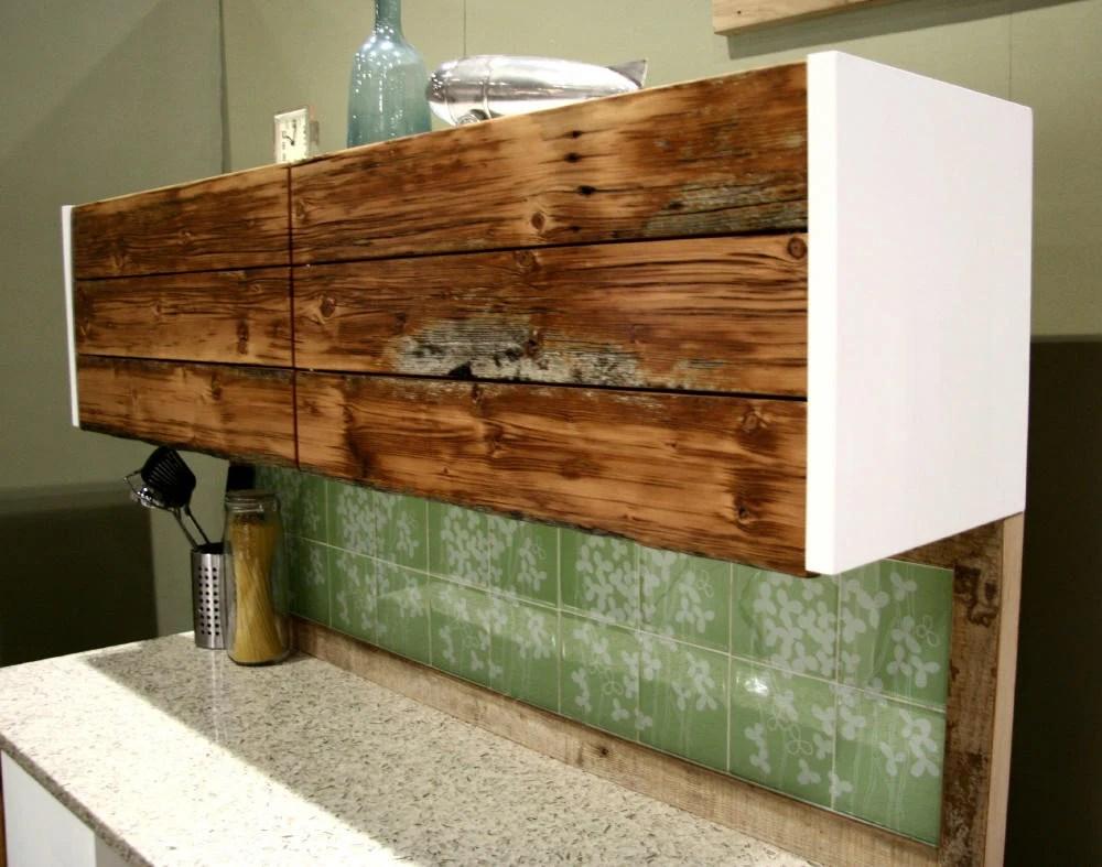 Materials 30u2033 Akurum horizontal wall cabinet reclaimed Douglas fir MDF panels & SEMIhandmade - IKEA Hackers