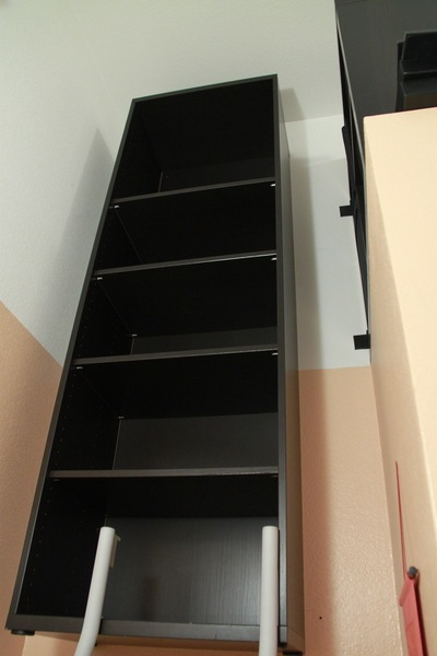 suspended besta bookshelf ikea hackers. Black Bedroom Furniture Sets. Home Design Ideas