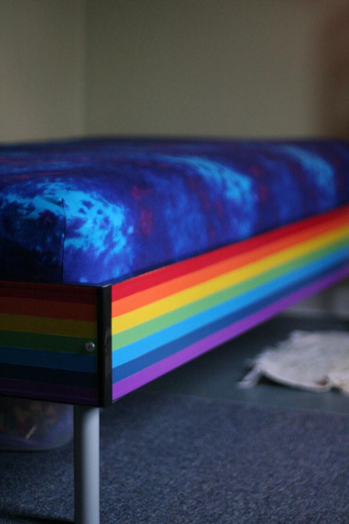 Rainbow Bed Ikea Hackers