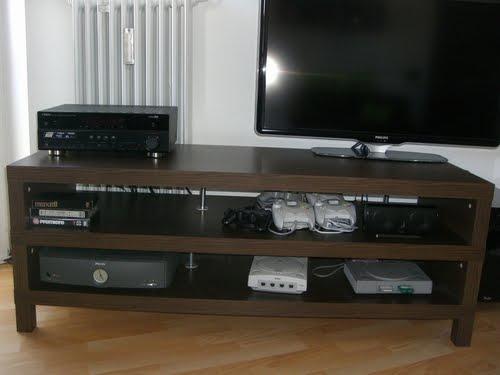 lack on lack tv bench ikea hackers. Black Bedroom Furniture Sets. Home Design Ideas