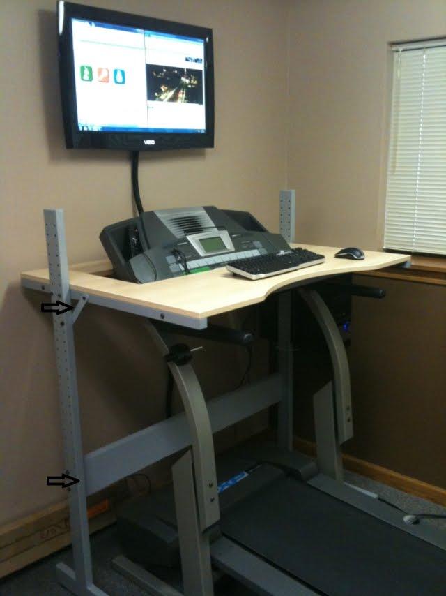 Jerker Treadmill Desk Ikea Hackers