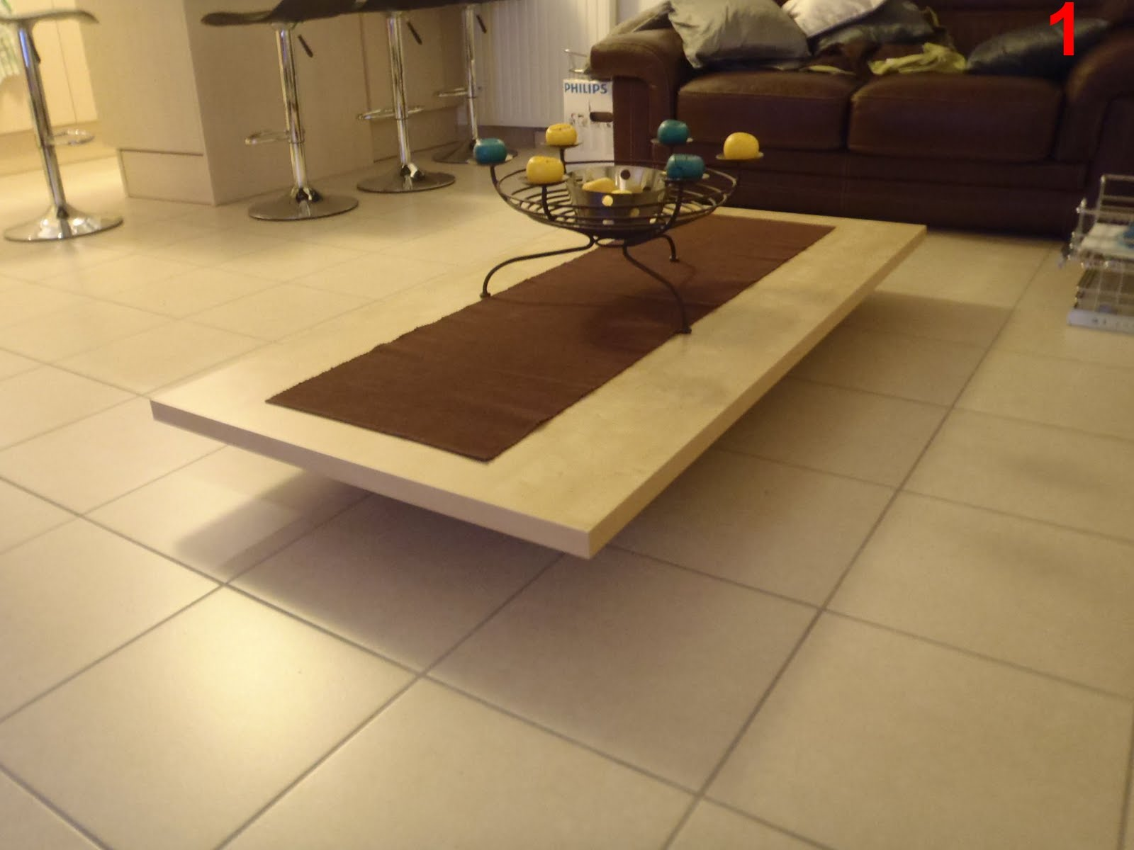 Lift coffee table IKEA Hackers