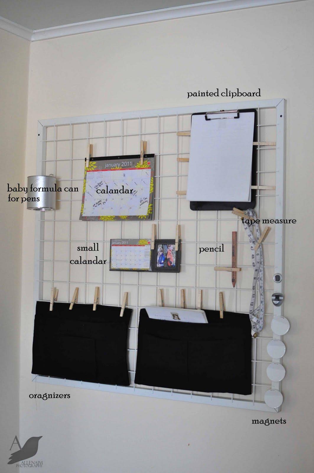 Custom Wall Sized Clipboards Ikea Hackers