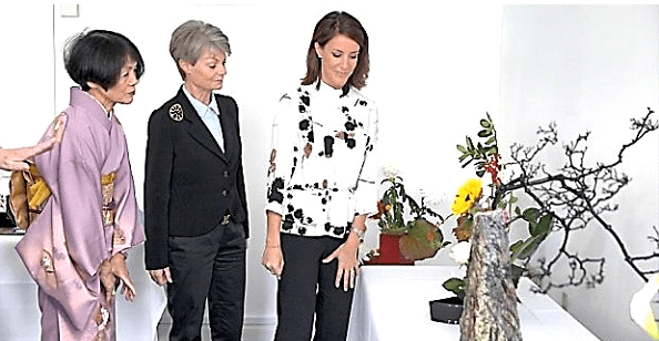 Princess Marie, Countess Sussie of Rosenborg and Setsuko 10.10.2015