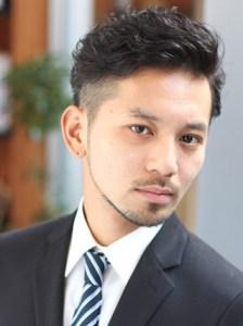 成人式 スーツ 男 髪型3