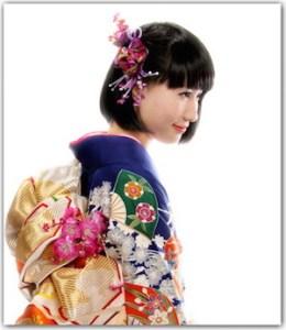 成人式 髪型 ショート アレンジ1