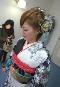 成人式 髪型 ショート アレンジ5