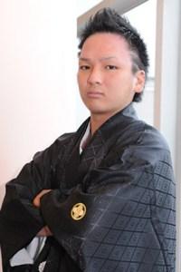 成人式 袴 男 髪型115