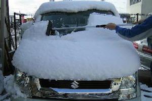 車、雪下ろし、道具、方法、1
