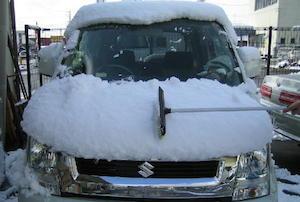 車、雪下ろし、道具、方法、7