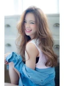 夏 ロング 髪型 女性、3