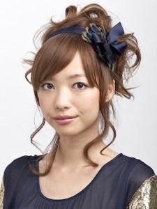 結婚式 ロング 髪型 ゲスト 女性、5