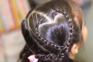 女の子 髪型 人気、3
