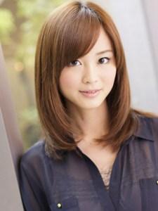 秋 ミディアム 髪型 レディース 人気、5