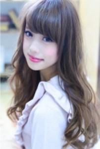 秋 髪型 ロング レディース 人気、5